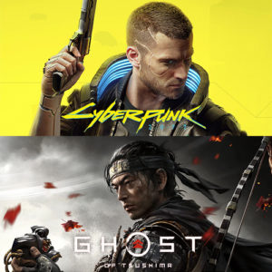 Cyberpunk 2077 / Ghost of Tsushima