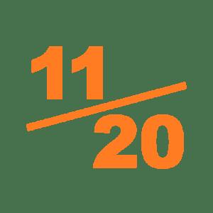 Note 11 sur 20