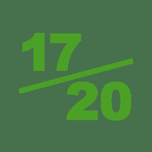 Note 17 sur 20